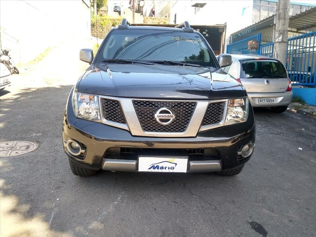 NISSAN FRONTIER 2.5 SV ATTACK 4X4 CD TURBO ELETRONIC DIESEL 4P AUTOMÁTICO - Foto 2
