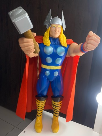 Boneco Thor Premium  Gigante vingadores 55 cm Colecionador  NOVO - Foto 2