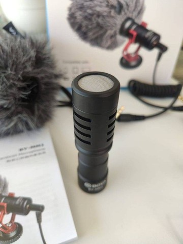 Mini Microfone Cardioide De Metal Boya BY-MM1 - Foto 3