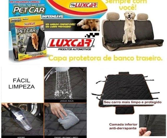 Capa protetora para banco traseiro Pet&car - Foto 2
