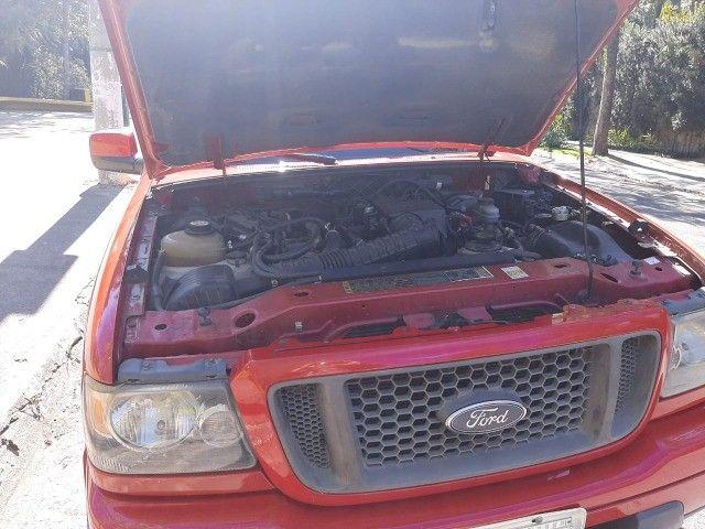 Ford Ranger 2008 Sport XLS 10A 4X2 - GNV 5° geração Motor 2.3 Completa  - Foto 9