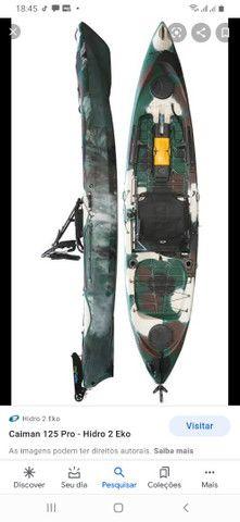 Caiaque Caimam 125 Hidro 2 para pesca para 1 pessoal