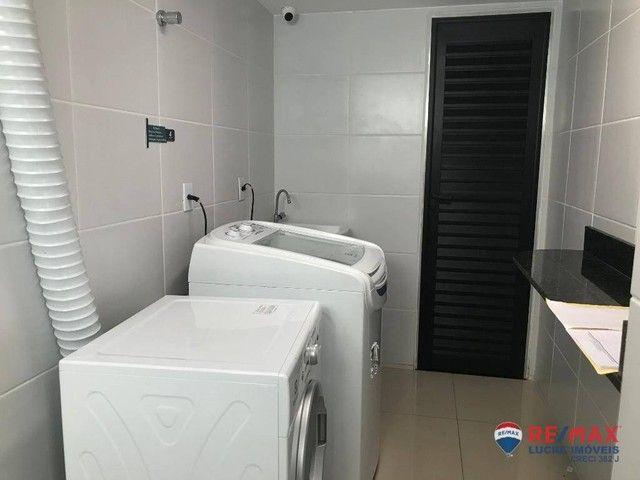 Apartamento com 1 dormitório para alugar, 39 m² por R$ 1.900,00/mês - Cabo Branco - João P - Foto 19