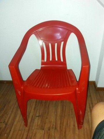 Cadeiras plástica