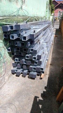 Poste Aço Galvanizado ou Concreto - Light - Foto 2