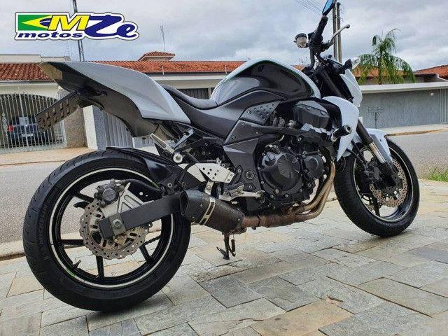 Kawasaki Z 750 2010 Branca com 64.000 km - Foto 8