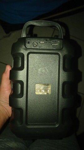 Vendo está caixa de som Bluetooth novo entrada para microfone * zp  - Foto 2