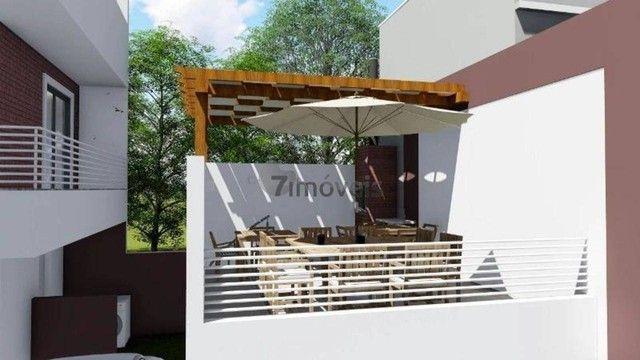 Sobrado com terraço em Condomínio, 3 quartos, 2 vagas