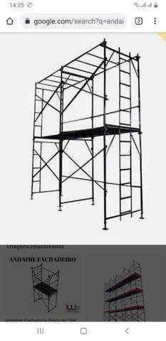 Andaimes de fechamento torre de 13 metros  - Foto 3