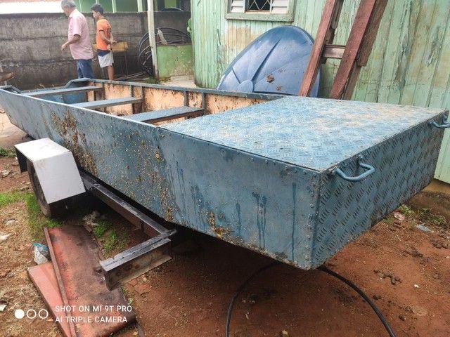 Barco carreta 4 mil barco de chapa de onibus - Foto 5