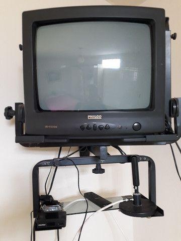 "TV 14"", Receptor Orbisat Digital, Suporte para TV, Conversor Digital - Foto 6"