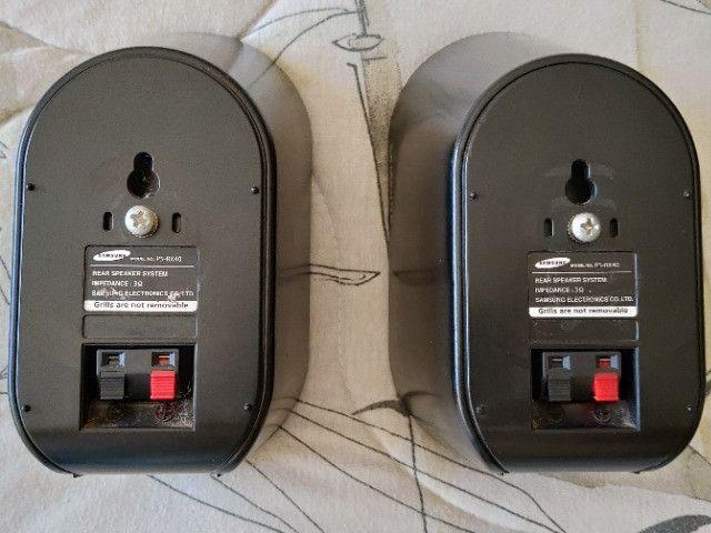Caixas Acústicas Traseiras P/ Home Theather Samsung PS-RX40 - Foto 3