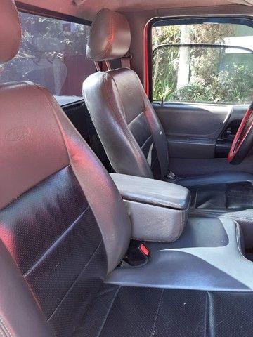 Ford Ranger 2008 Sport XLS 10A 4X2 - GNV 5° geração Motor 2.3 Completa  - Foto 12