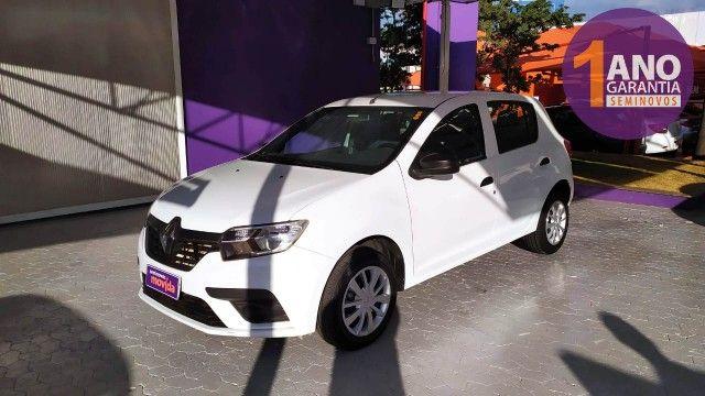 Renault Sandero Life 1.0 12V SCe (Flex) - Foto 2