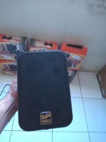 Amplificador e caixas acústicas - Foto 3