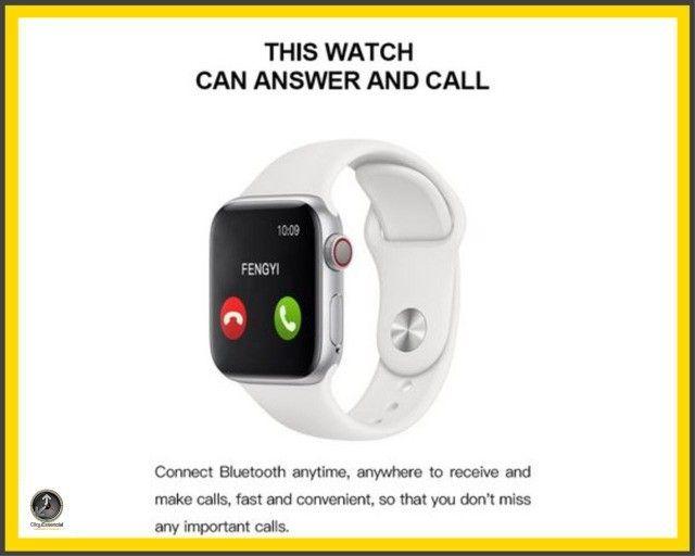 Relogio Inteligente Smartwatch Iwo Max T500 44mm  - Foto 6