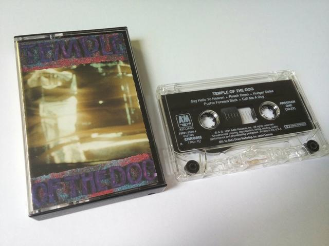 Fita K7 Temple Of The Dog (Importada) Made in USA