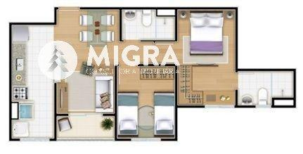 Apartamento à venda com 2 dormitórios em Vila industrial, São josé dos campos cod:575 - Foto 12