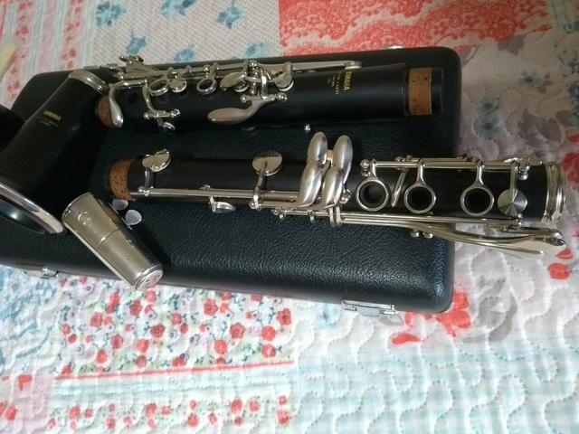 clarinete yamaha ycl 351 madeira granadilha instrumentos musicais