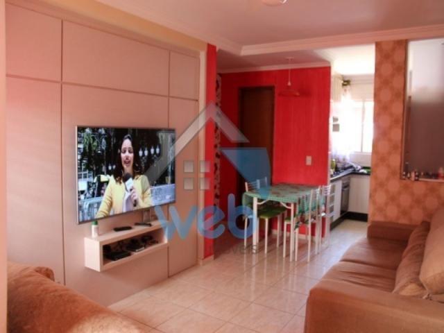 Excelente sobrado, dois quartos e cozinha planejada! - Foto 6