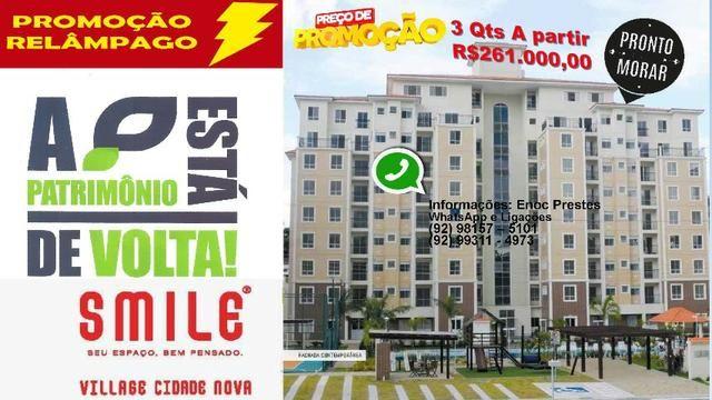 Cobertura Smiles Village Cidade Nova - 3 Dormitórios - 131m²