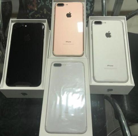 Loja física  iPhone 7 Plus 128gb LACRADOS! tds cores  1 ano garantia Apple   Retira hoje!