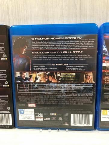 Coleção Blu Ray Homem Aranha 05 Filmes - Foto 3