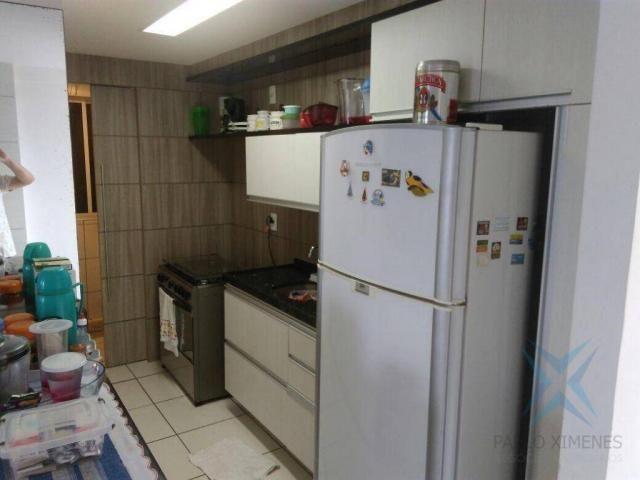 Apartamento com 3 dormitórios à venda, 74 m² por r$ 410.000,00 - cambeba - fortaleza/ce - Foto 11