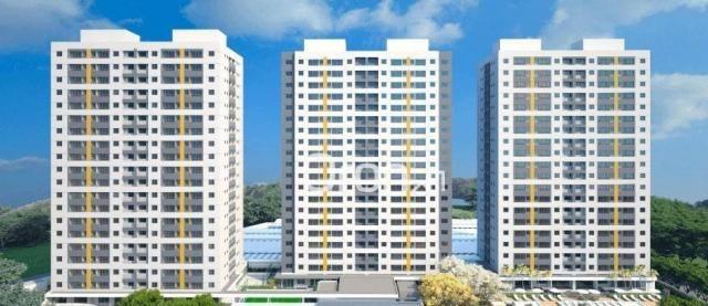 Apartamento com 2 dormitórios à venda, 56 m² por R$ 198.000,00 - Condomínio Santa Rita - G - Foto 3