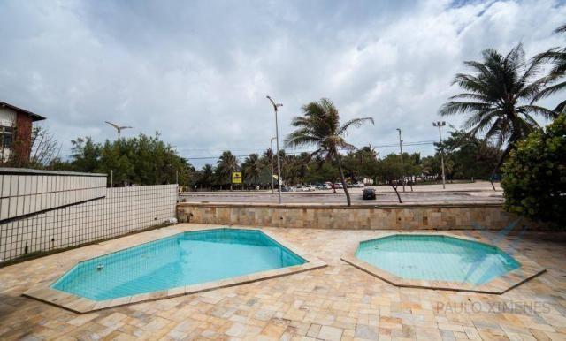 Apartamento vista mar com 4 dormitórios à venda, 352 m² por r$ 650.000 - antônio diogo - f - Foto 14
