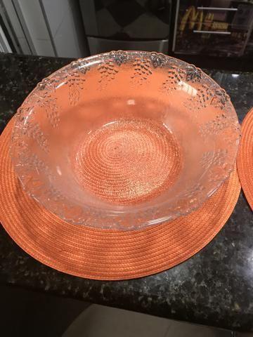 Duo de saladeiras em vidro - Foto 5