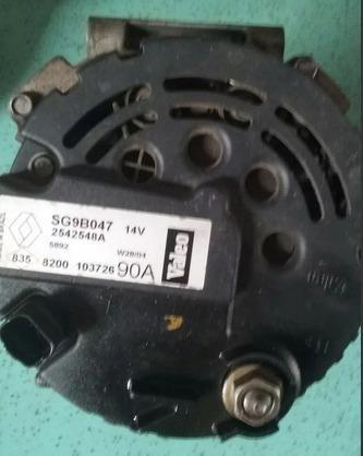 Alternador Do Motor Com Ar Clio 1.6 16v Original 95a - Foto 2
