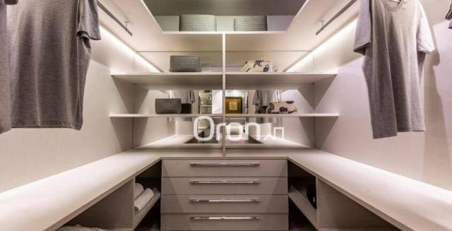 Apartamento com 4 dormitórios à venda, 440 m² por r$ 2.971.000,00 - setor marista - goiâni - Foto 12
