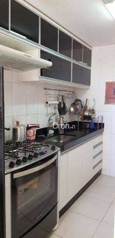Apartamento com 2 dormitórios à venda, 69 m² por r$ 299.000,00 - setor pedro ludovico - go - Foto 8