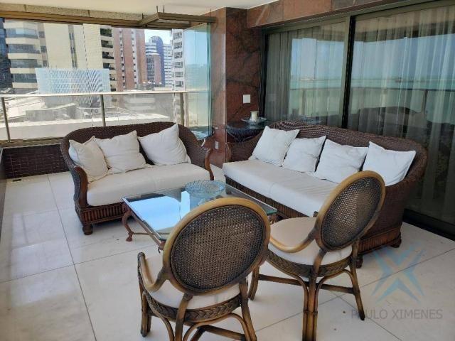 Apartamento alto padrão para alugar, 550 m² por r$ 20.000/mês - meireles - fortaleza/ce - Foto 19