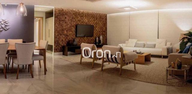 Apartamento com 4 dormitórios à venda, 440 m² por r$ 2.971.000,00 - setor marista - goiâni - Foto 5