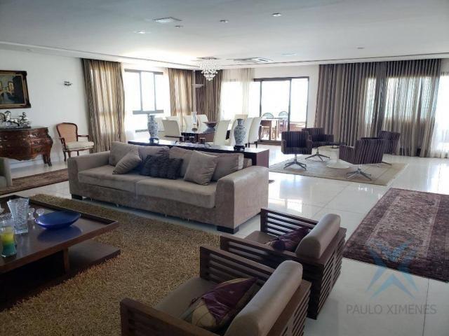 Apartamento alto padrão para alugar, 550 m² por r$ 20.000/mês - meireles - fortaleza/ce - Foto 14