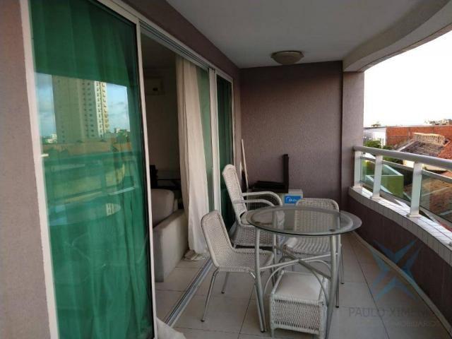 Apartamento com 1 dormitório à venda, 48 m² por r$ 300.000 - praia de iracema - fortaleza/ - Foto 11