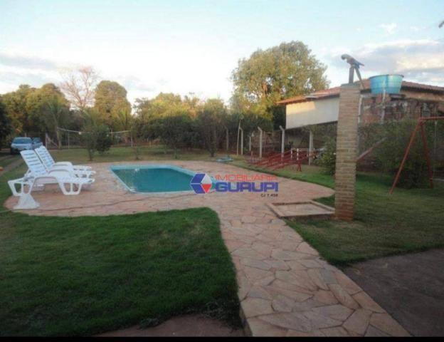 Chácara com 2 dormitórios para alugar, 1000 m² por R$ 2.200/mês - São Benedito da Capelinh - Foto 5