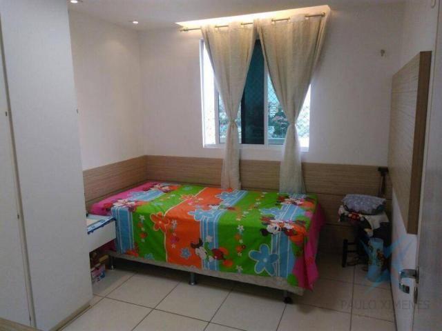 Apartamento com 3 dormitórios à venda, 74 m² por r$ 410.000,00 - cambeba - fortaleza/ce - Foto 7