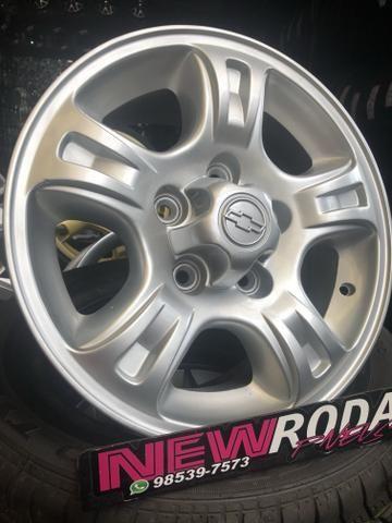 Rodas ChevroletAro 15 S10 e Blazer 5Furo - Foto 5