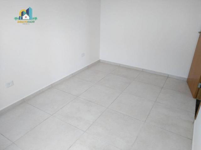Apartamento residencial para locação, Vila Guilhermina, Praia Grande. - Foto 8