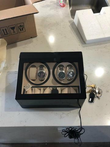 9f6205ec934 Caixa movimentadora de relógios de de luxo - Bijouterias