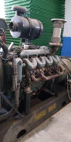 Grupo gerador Scania 300 KVA
