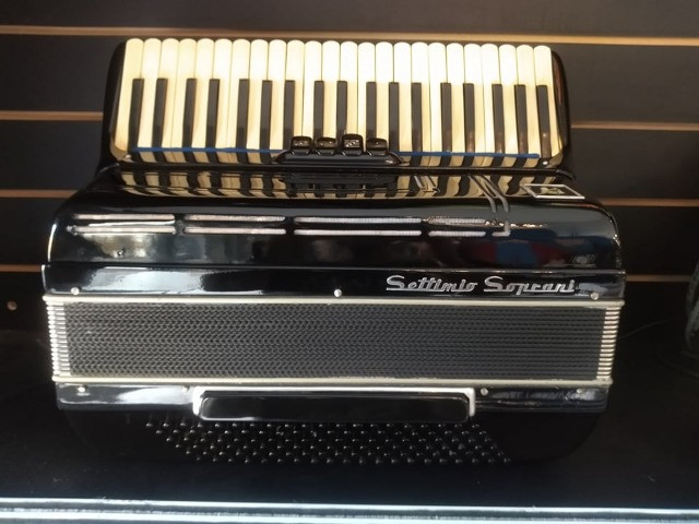 Acordeon Settimo Soprani 120 Baixos (Mixer Instrumentos Musicais) - Foto 2