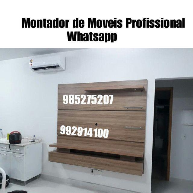 MONTADOR DE MÓVEIS PROFISSIONAL COM EQUIPE ligue - Foto 2