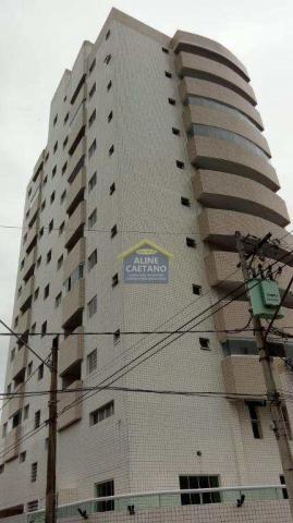 Apartamento à venda com 1 dormitórios em Guilhermina, Praia grande cod:AC927 - Foto 2