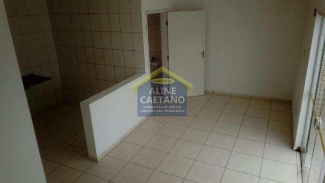 Apartamento à venda com 1 dormitórios em Guilhermina, Praia grande cod:AC927 - Foto 4