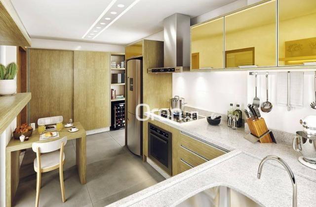 Apartamento com 3 dormitórios à venda, 144 m² por R$ 852.000,00 - Setor Bueno - Goiânia/GO - Foto 6