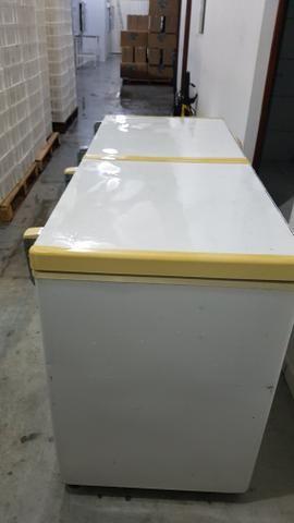 Freezer Horizontal Fricom 504 litros - Dupla Ação -duas portas - Foto 5